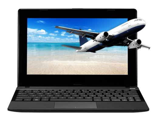 planear férias na internet
