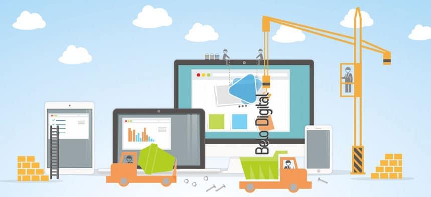 Belo Digital Site em Manutenção