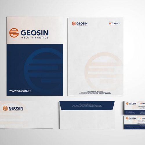Stationery Design Geosin Geosynthetics