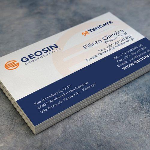 Business Cards Geosin Geosynthetics