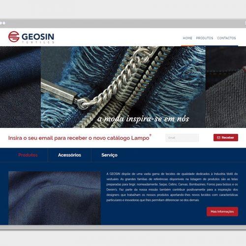 Website Geosin Textiles