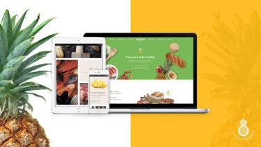 Website Minimercado Abakaxi nos diversos dispositivos