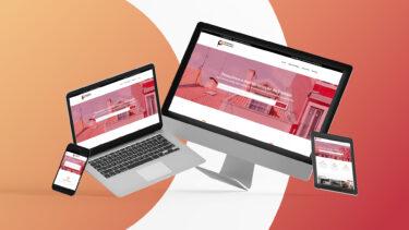 Website das Pequenas & Completas nos diferentes dispositivos