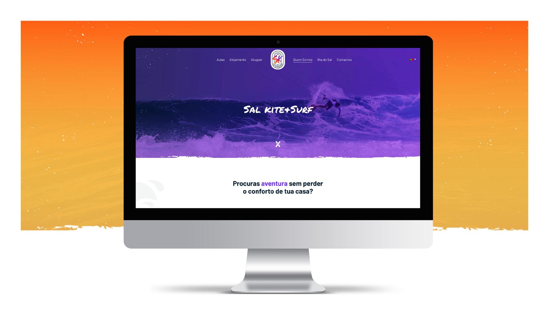 Homepage Sal Kite & Surf